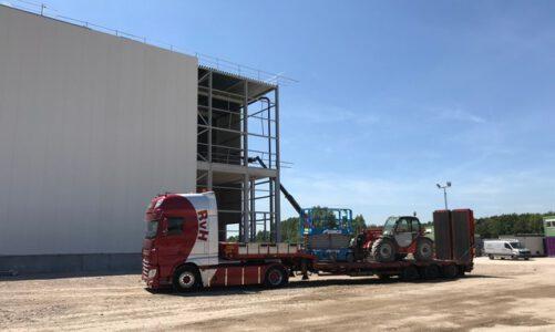 Logistieke dienstverlening houdt het verkeer veilig